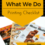 Print checklist, what your print house needs, designer, print house, printer, limerick, booklet, brochure printing