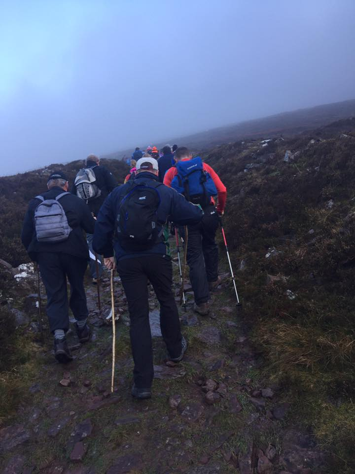 CUBE complete Galteemore challenge for Cliona's Foundation